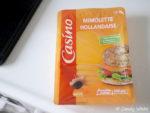 フランス カジノ社のミモレットチーズとお気に入りのナーンドッグ系パン