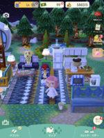 ポケ森 結局毎日遊んでいる。お部屋を作りました。