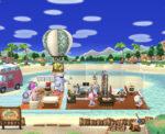 ポケ森|キャンプ場レイアウト ここは無人島のわたしの家です(無課金)
