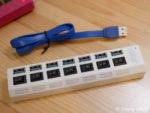Macbook12インチ|格安USBハブ3.0 ハイスピード 7ポート